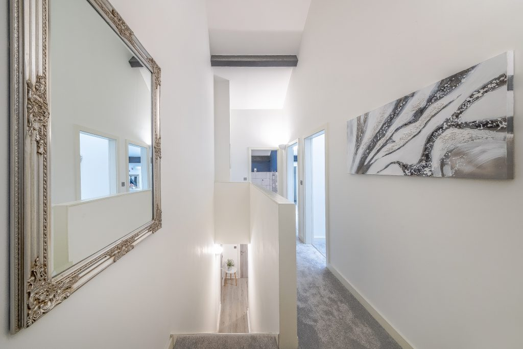 show apartment in Conditioning house an award winning development in Bradford