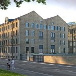 exterior view of Conditioning house an award winning development in Bradford
