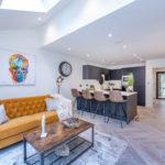 Cliff Oaks kitchen living area