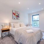Cliff Oaks double bedroom