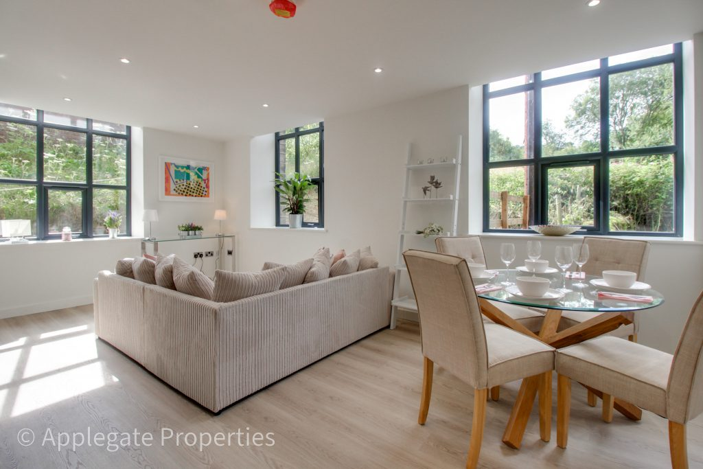 green lane mill conversion completes living space