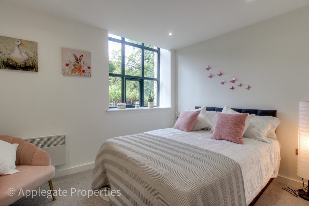 green lane mill conversion completes double bedroom