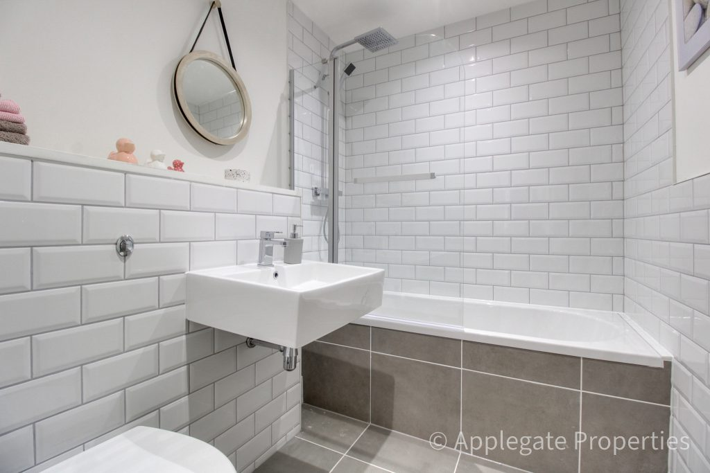 green lane mill conversion completes master bathroom