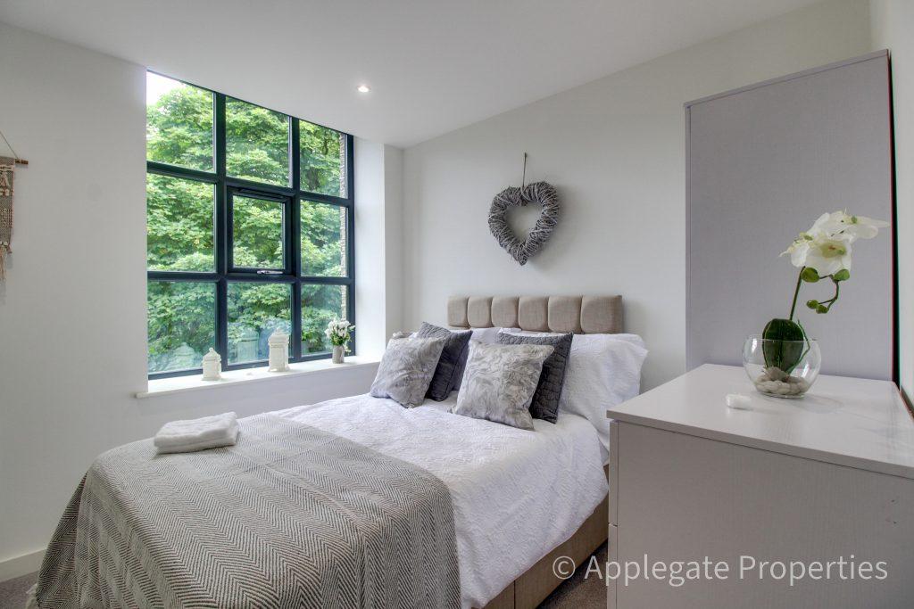 single bedroom view