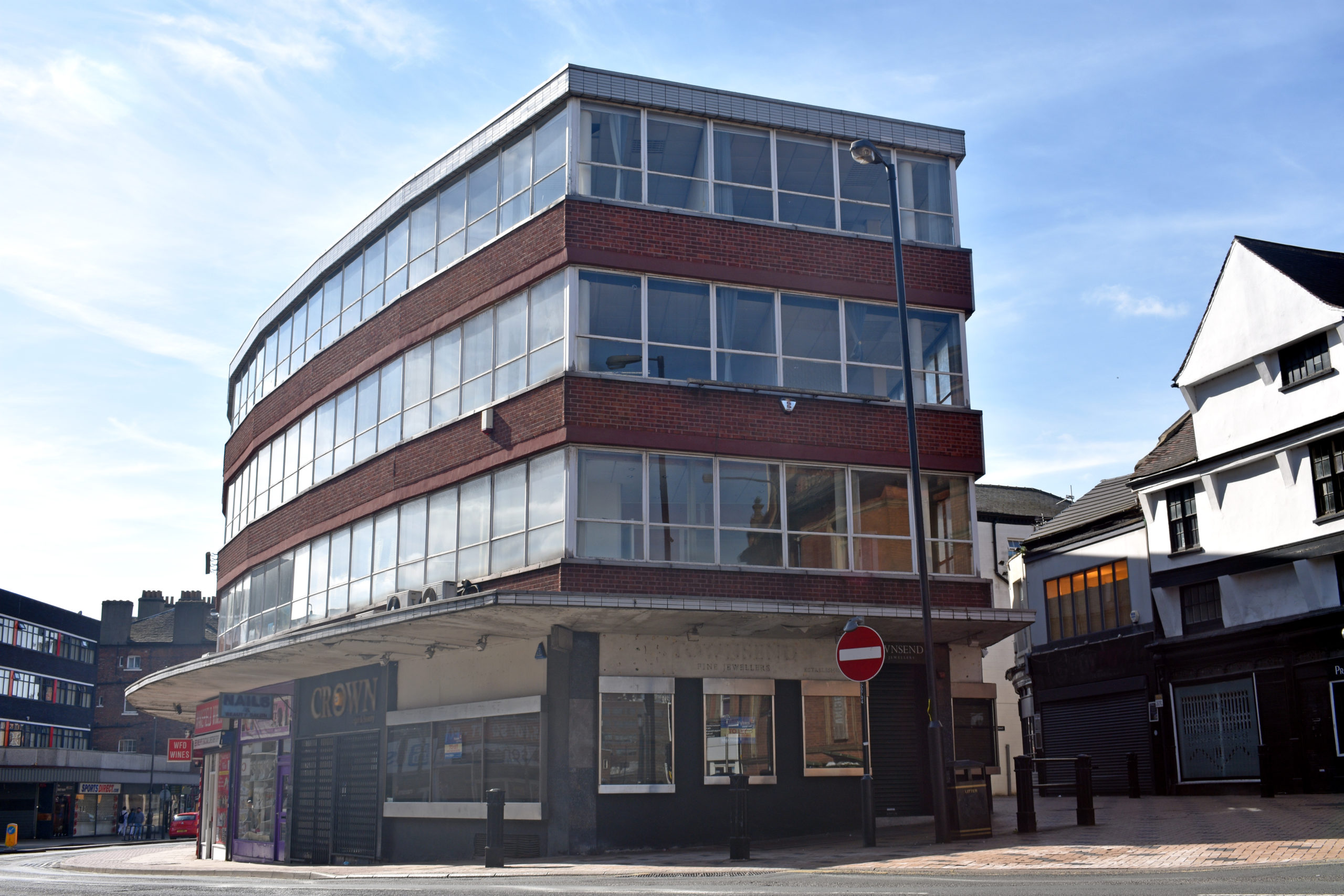 The exterior of Marygate House in the heart of Wakefield city centre