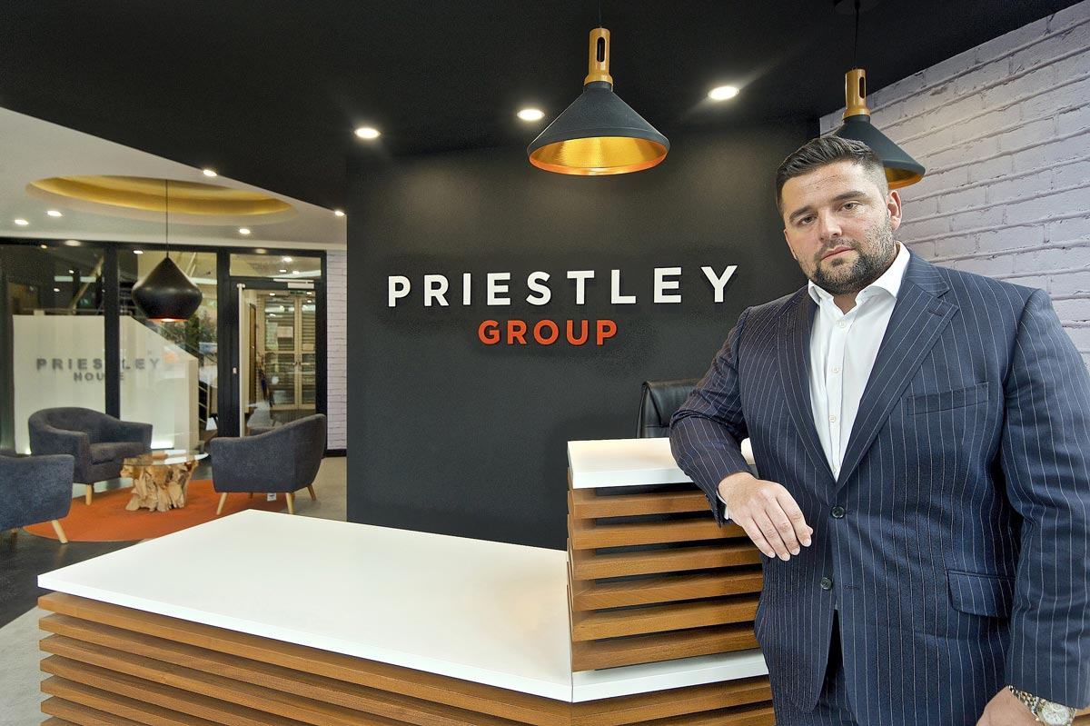 Nathan Priestley CEO of the Priestley Group