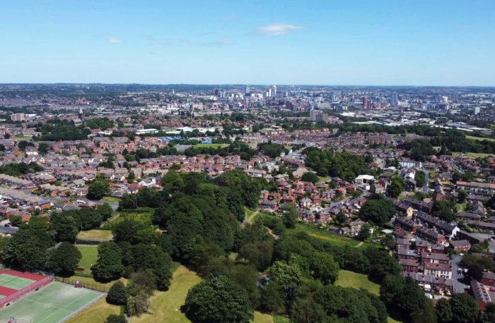 Leeds city view